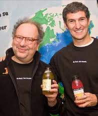 Barry and Co-Founder Seth Goldman