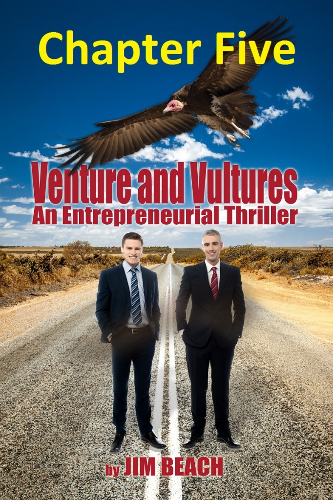 Venture and Vultures chapter five